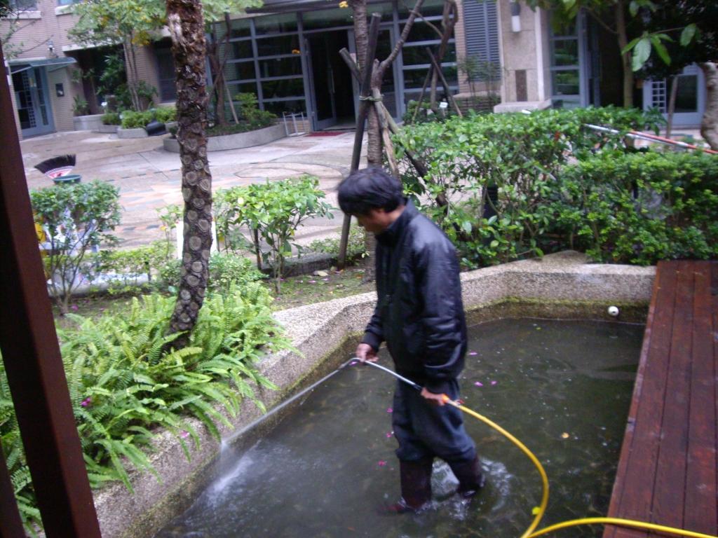 景觀水池清洗