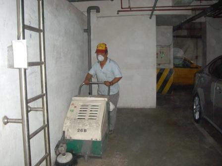 地下室清掃