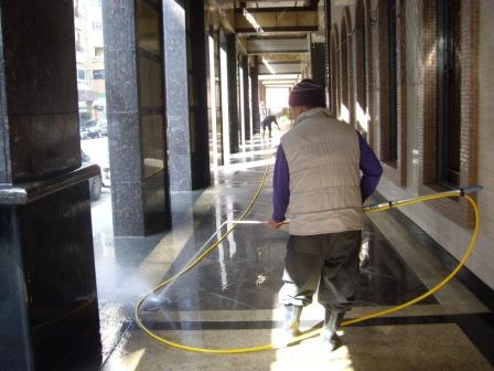 騎樓地板清洗