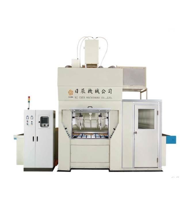 Horizontal Electrostatic BELL Spraying Machine