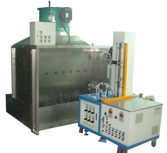 Surface And Iinner Hole Special Spraying Machine