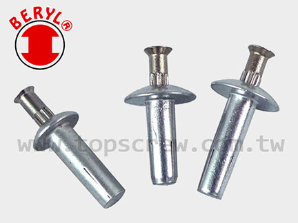 1/4 Speed Pin Rivet / Drive Pin Rivet