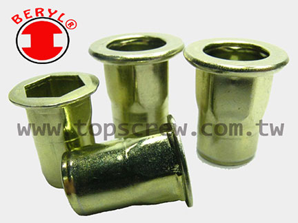 Half-hexagon Rivet Nut HBM&HBI Series