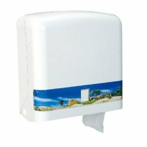 大捲筒衛生紙架-白