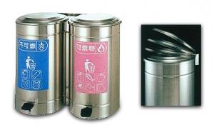 不鏽鋼垃圾分類桶