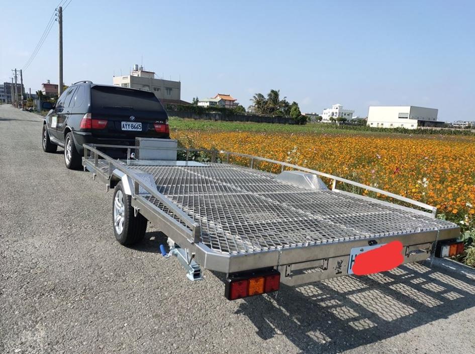不銹鋼框式拖車
