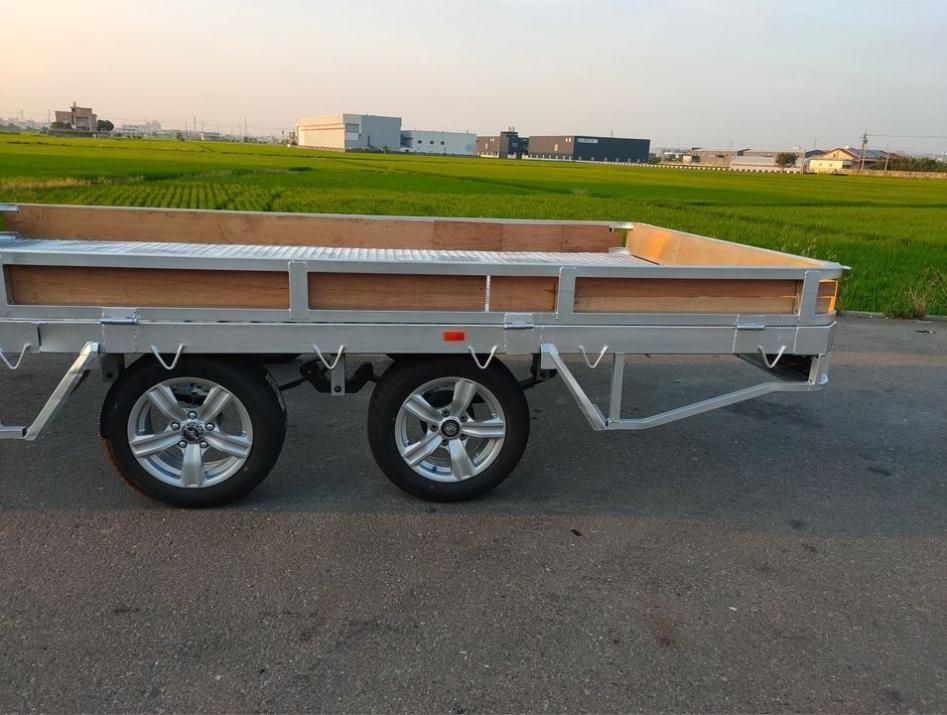 雙軸框式拖車