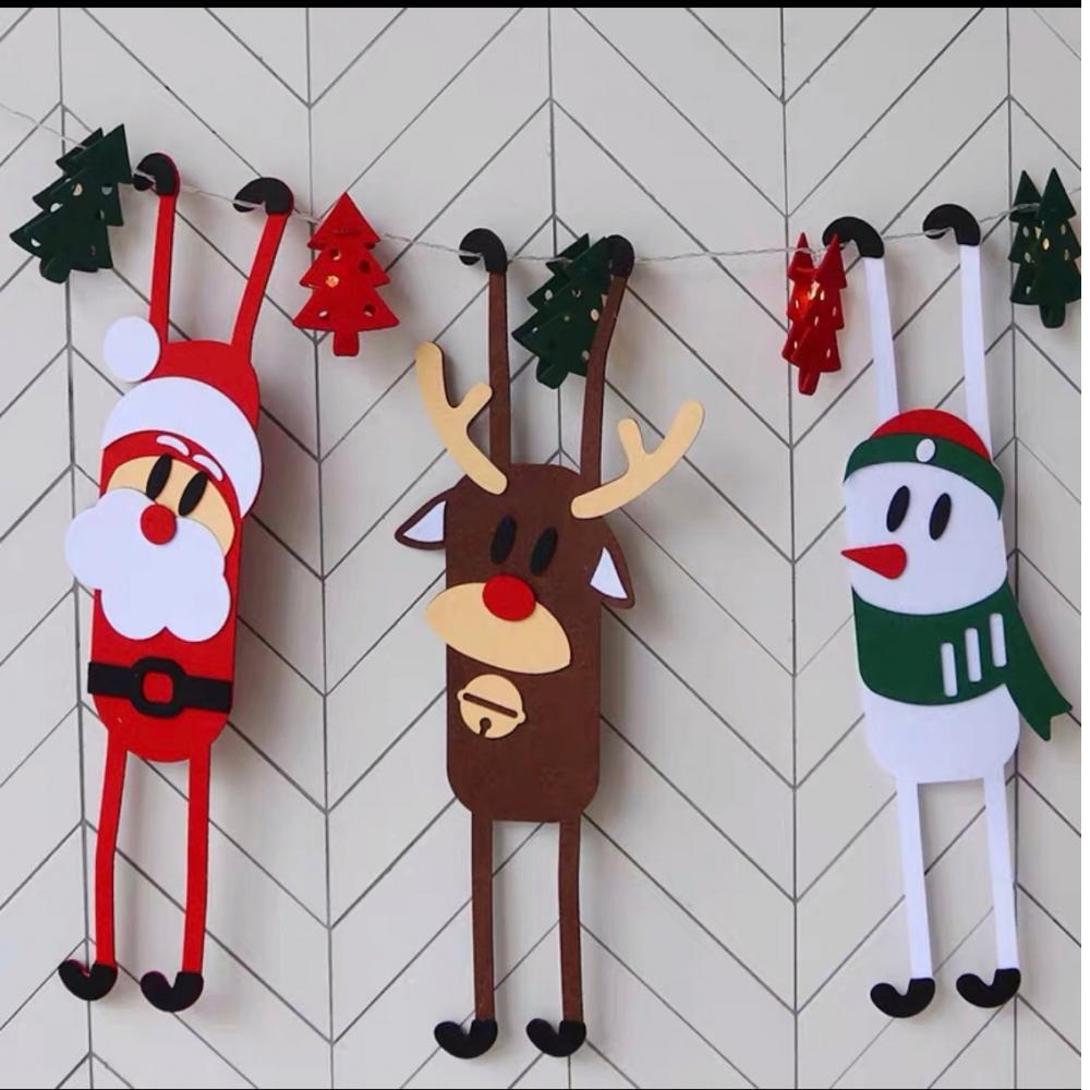 聖誕主題掛件擺設(雪