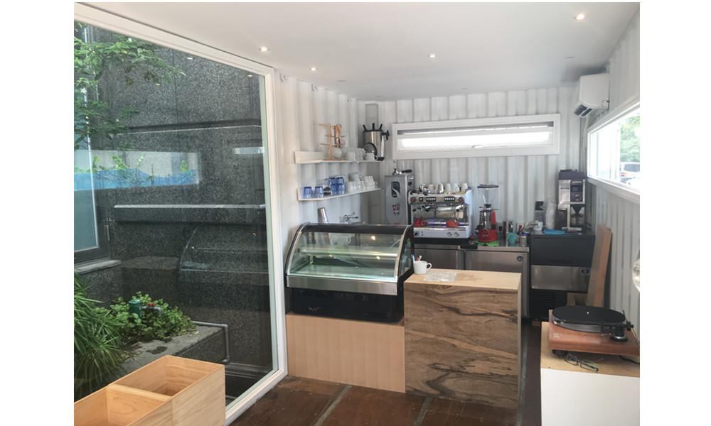貨櫃裝璜、改裝-貨櫃咖啡廳
