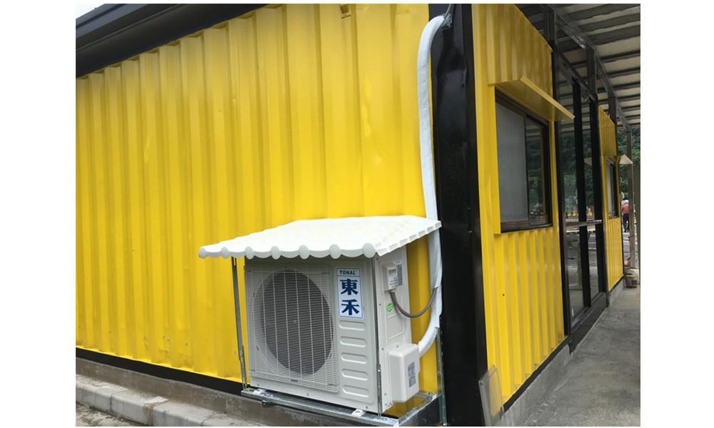 工-大基隆駕訓班-辦公室及鐵屋頂搭建
