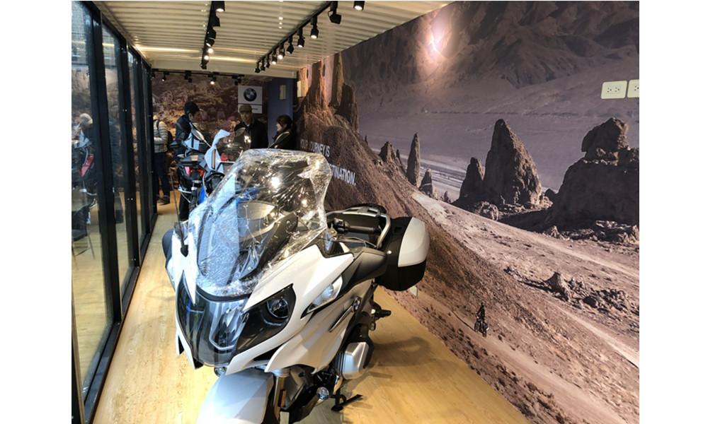 貨櫃-BMW重機發表會