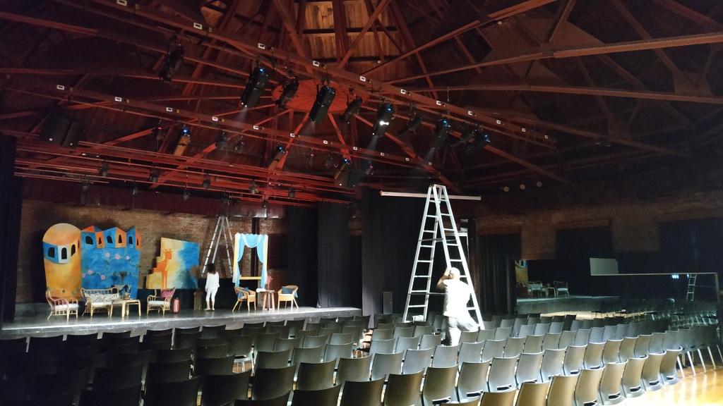 舞台背景道具