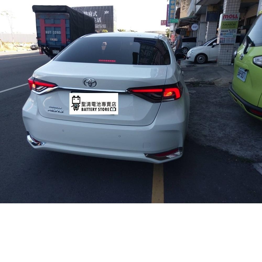 Toyota 2019 Corolla Altis 電池345LN1-MF 外掛鋰鐵KPE