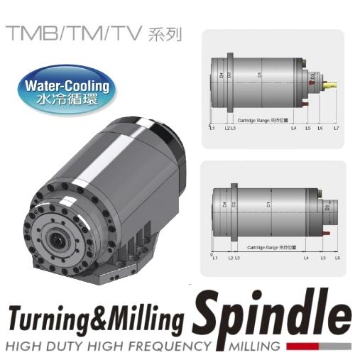 ビルトインモータースピンドル(複合式)-TMB