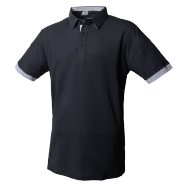 1NH09 系列 雙色吸排短袖POLO衫