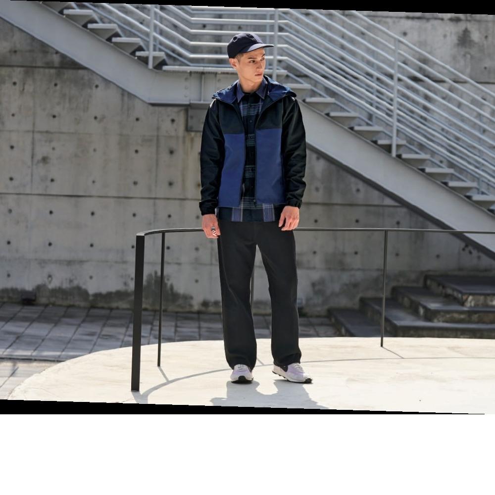 United Athle  撞色機能防風連帽外套 7489-01系列