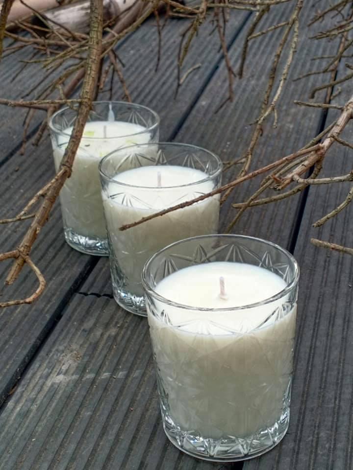 香氛蠟燭-木質香氣