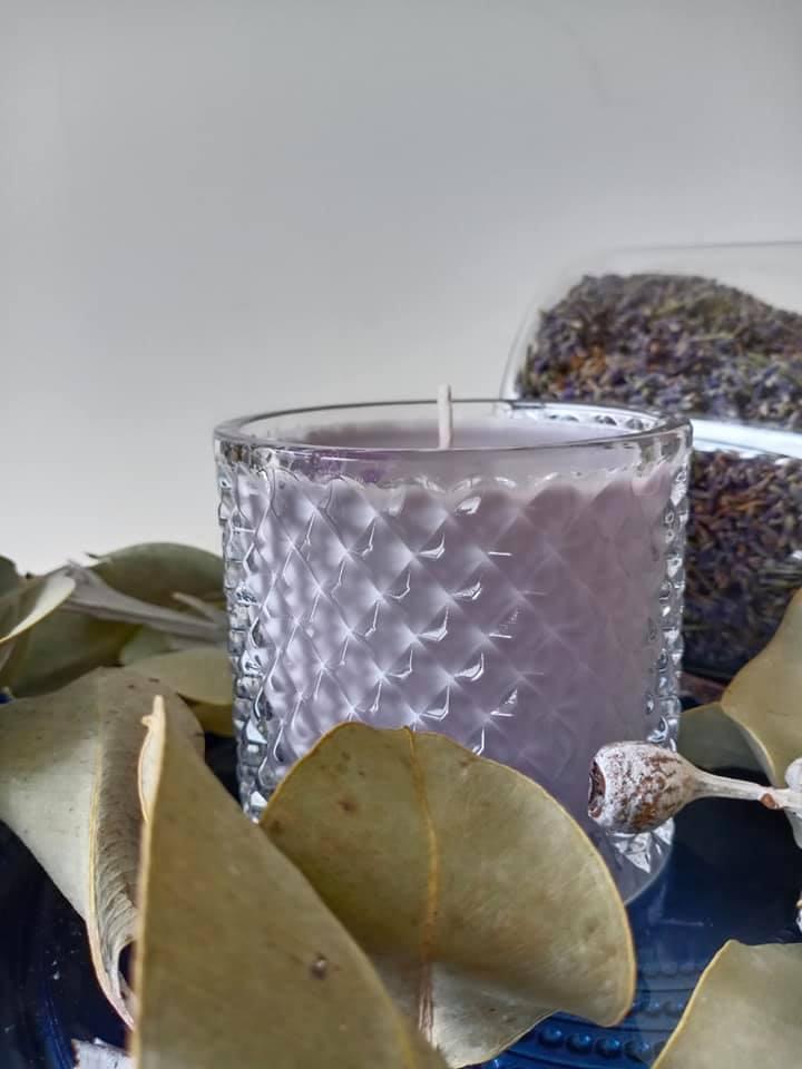 香氛蠟燭-薰衣草