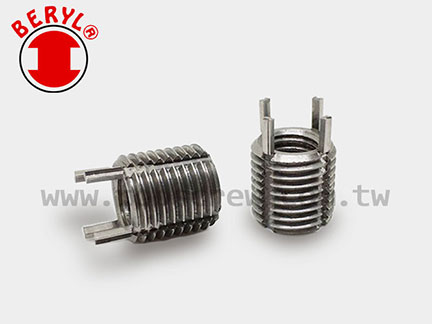 防鬆襯套/建鎖(插銷)式螺紋襯套-白鐵