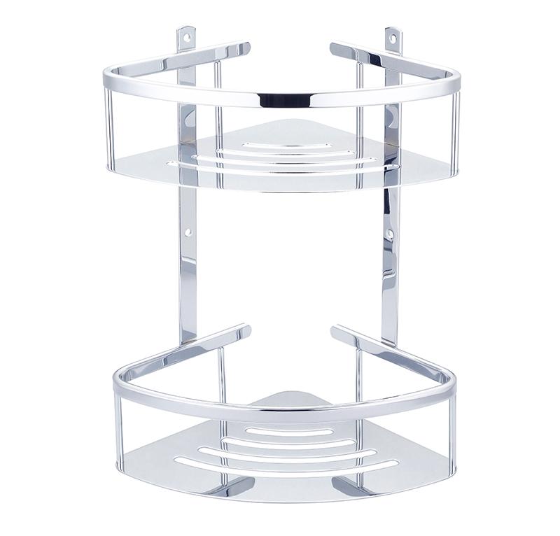 雙層白鐵扇型籃
