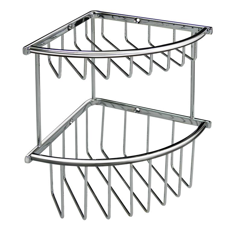 雙層圓條扇型籃(小)