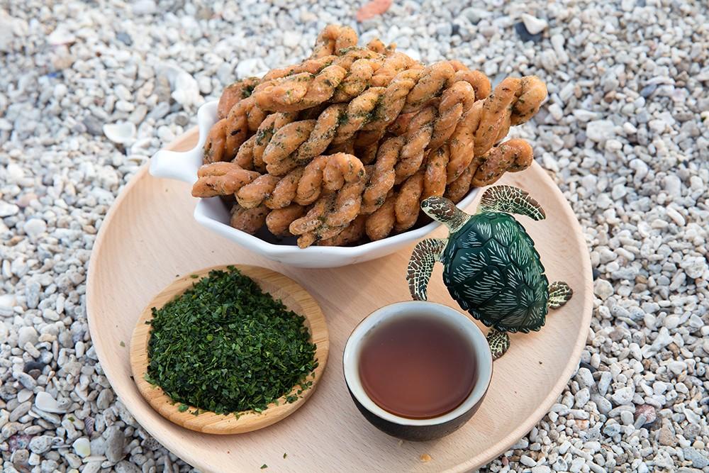 海苔芥末麻花捲