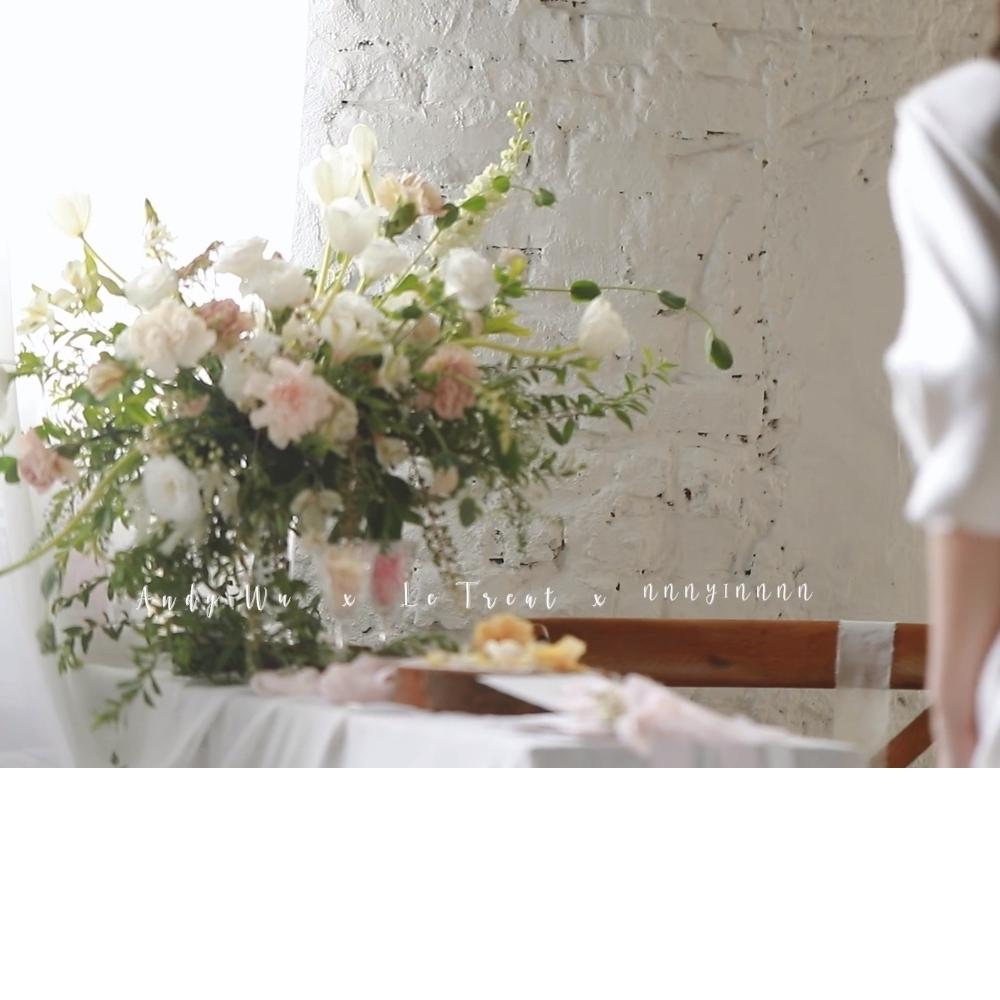 Le treat 禮服形象拍攝- White