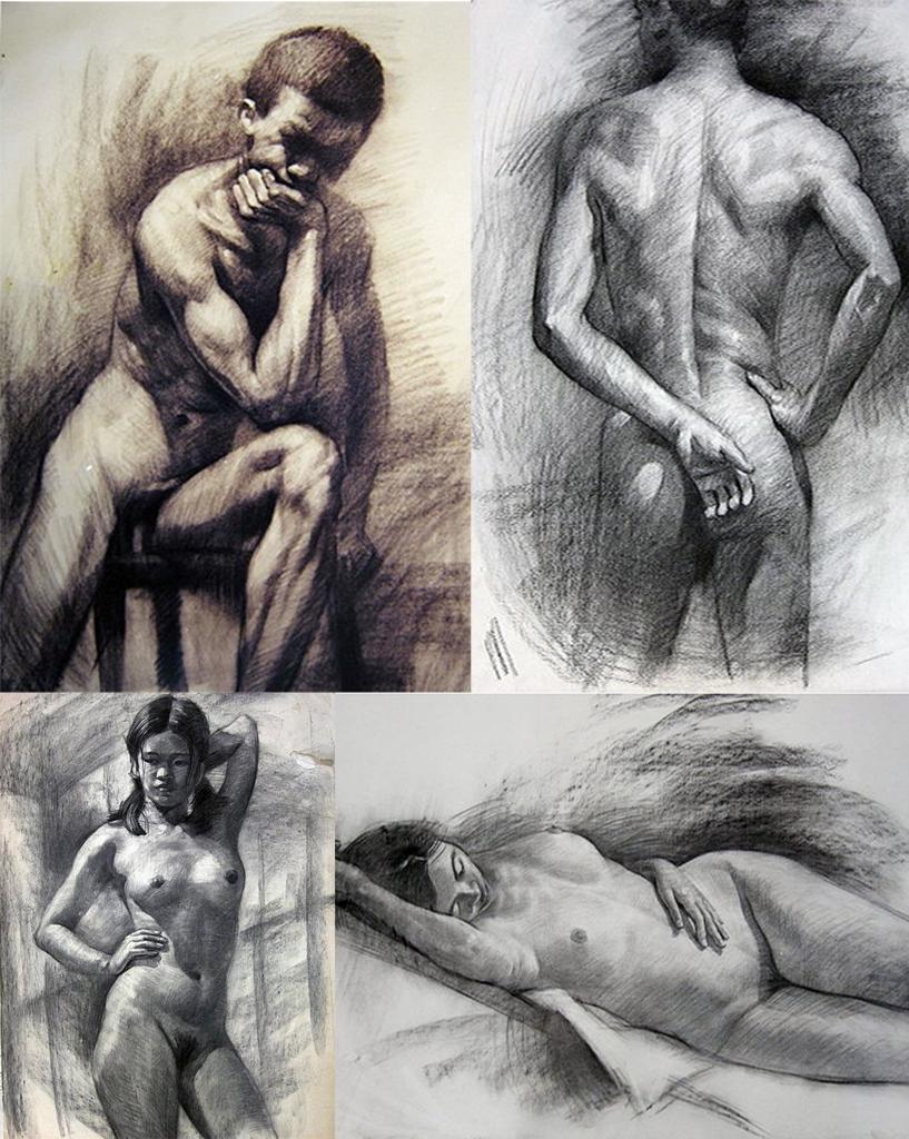 人體素描速寫