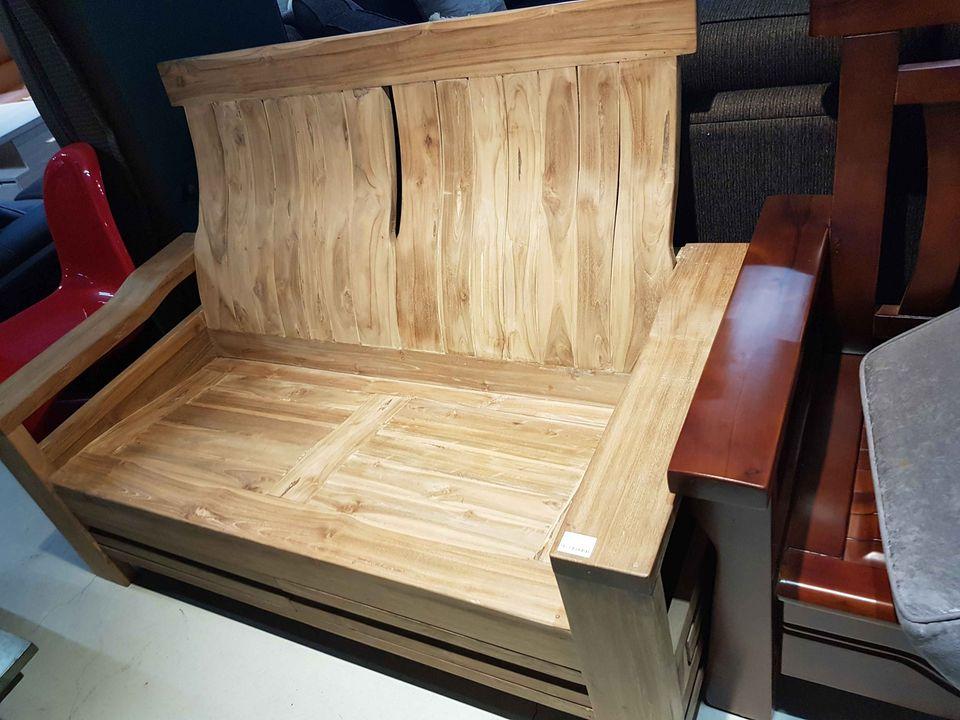 實木雙人椅