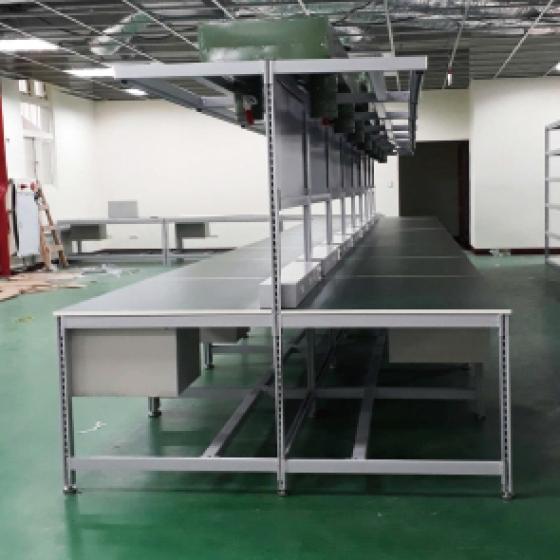 管柱型工作桌(二)