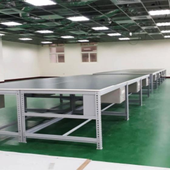 免螺絲平面式工作桌(