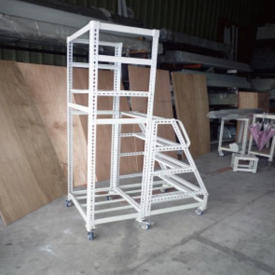 輪梯架可依需求配置