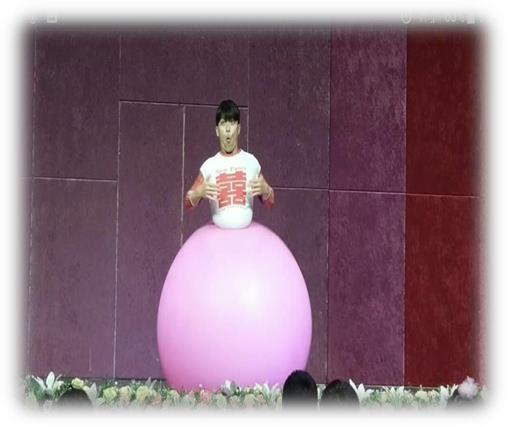 人入大氣球
