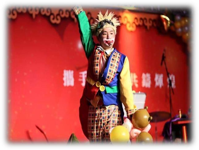 小丑氣球秀、小丑魔術秀