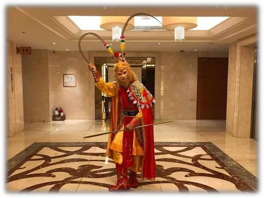 中國古典宮廷戲法、美猴王戲法