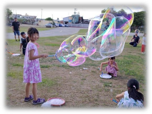 泡泡派對、泡泡體驗