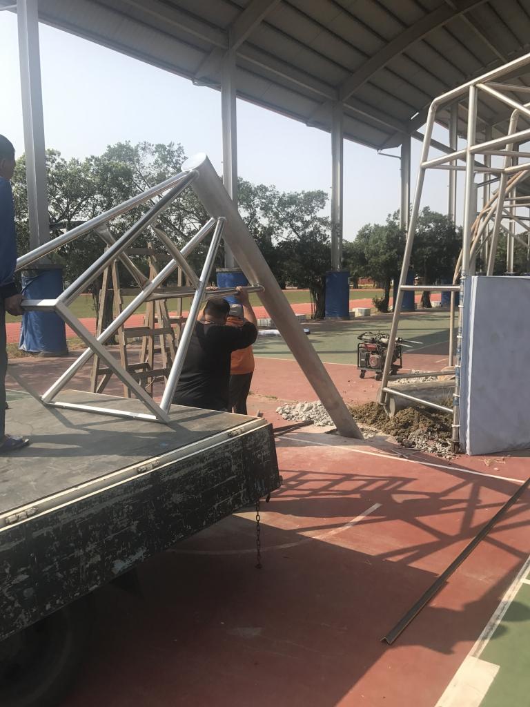 籃球架施工/單柱/移動/壁掛
