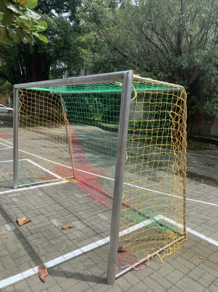 足球門施工