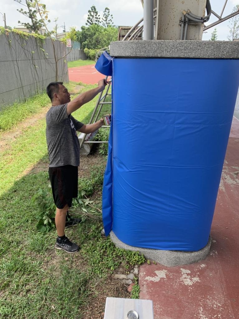 風雨球場水泥柱/籃球柱/排球柱/網球柱保護墊