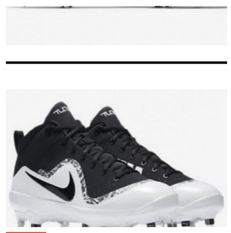 Nike 半高筒釘鞋