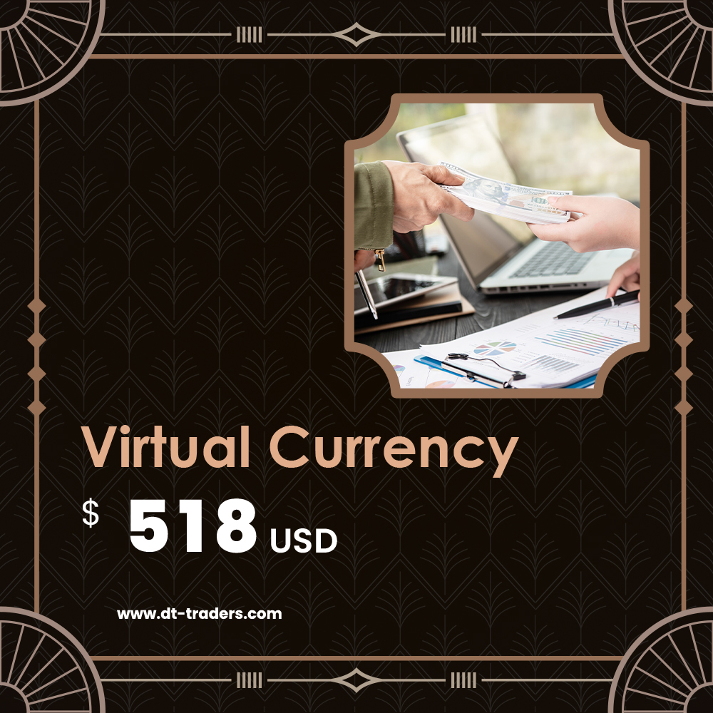 Virtual Currency|USD$ 518