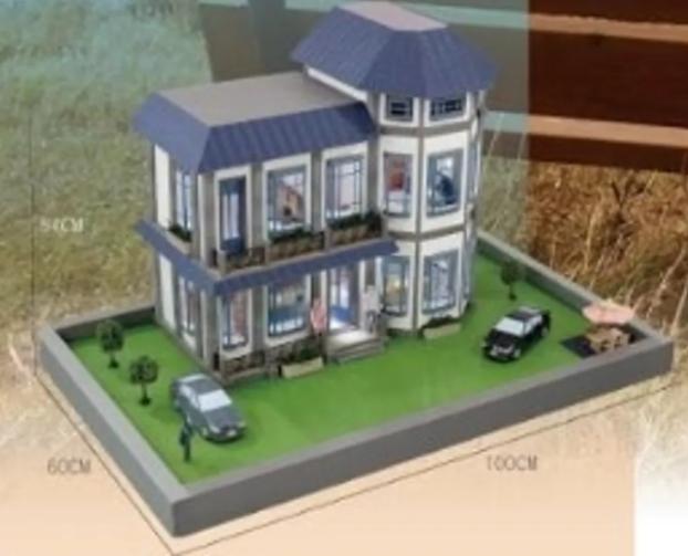 紙紮屋-歐式精品豪宅