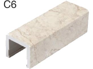 C6仿天然石紋門檻