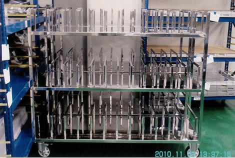 電子廠無塵室不銹鋼設備