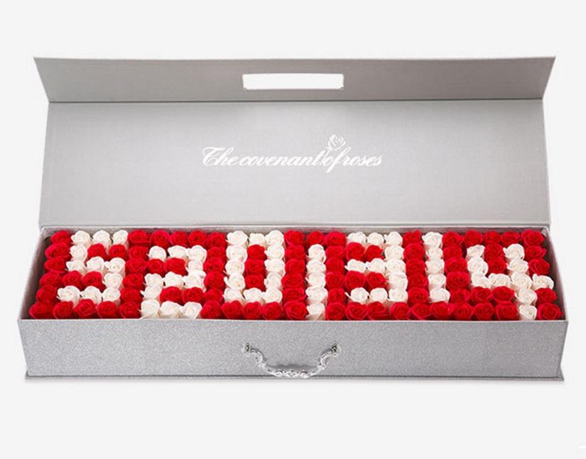 150朵香皂花束禮盒