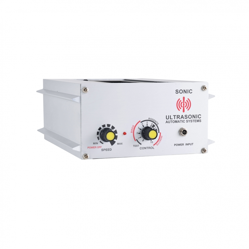 超音波驅鼠蟲器 (工業用型:90坪)
