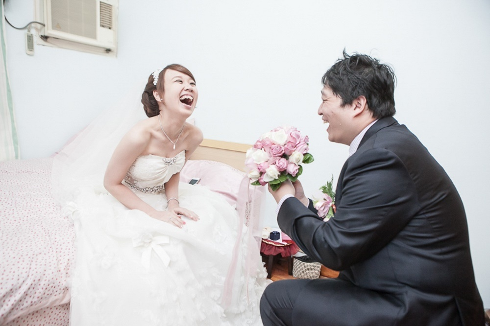 Yang-Yu 結婚