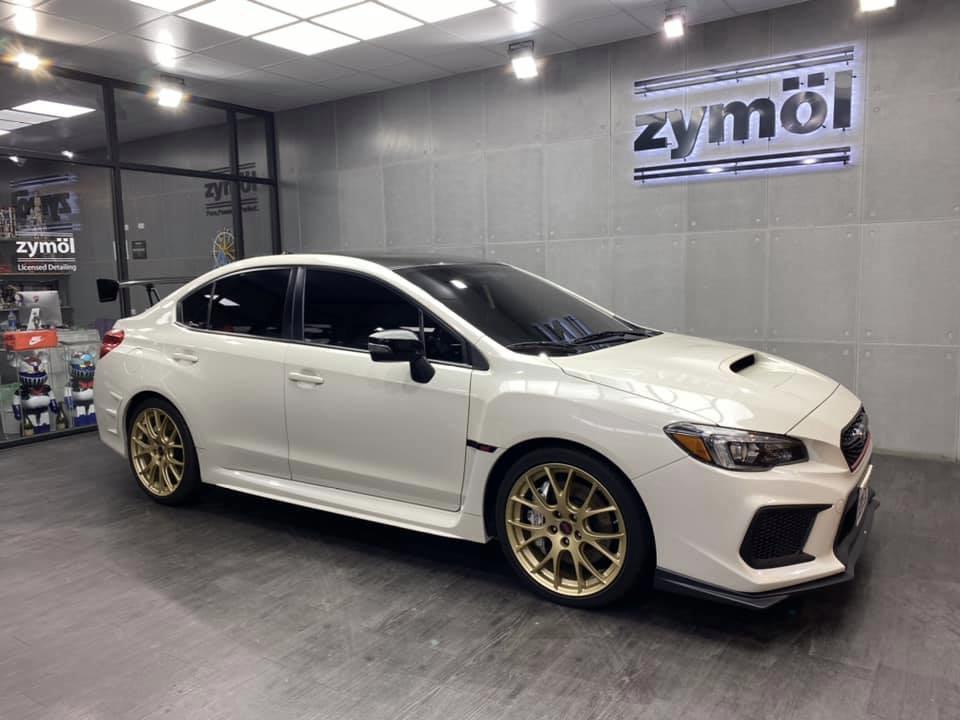 Subaru wrx sti S208 RA
