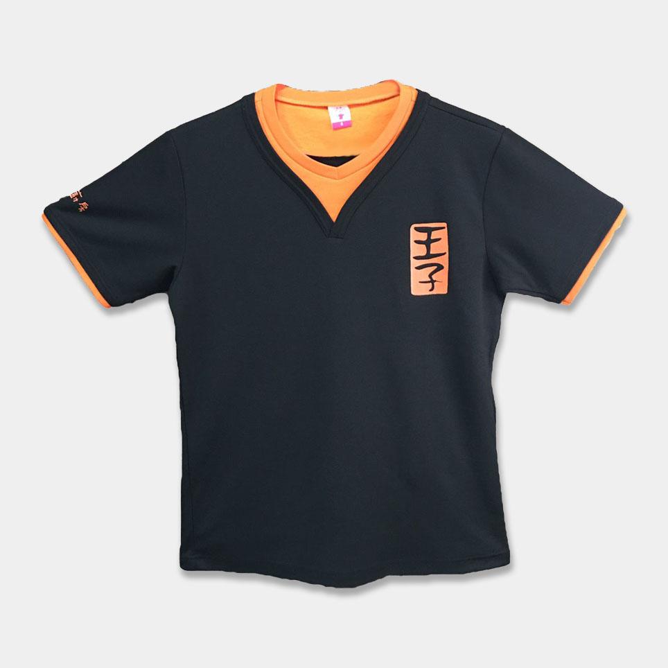 T恤變化款-M8014配色桃子領