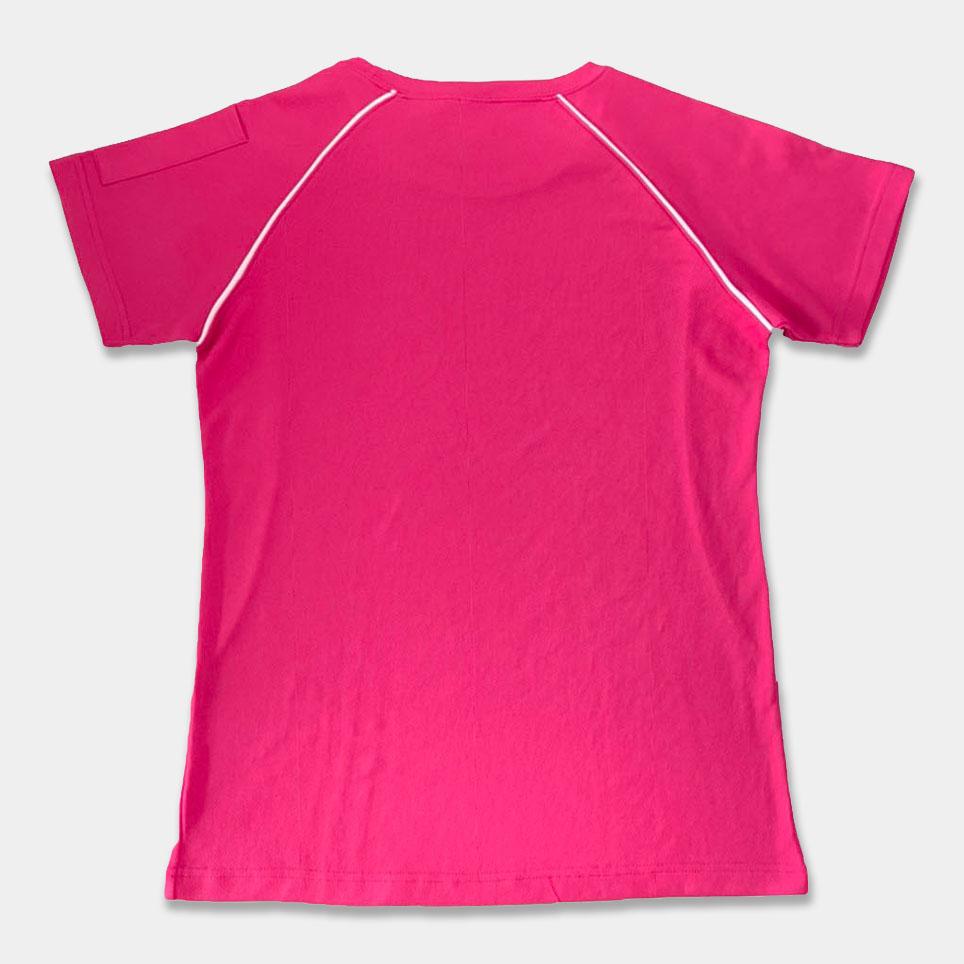 T恤變化款-M8019斜袖剪接